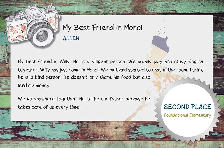 Study Skills Essay Allenessay List Of Narrative Essay Topics also Best Essay Uk My Best Friend In Monol By Allen  Monol International Education  Autobiographical Essay Sample